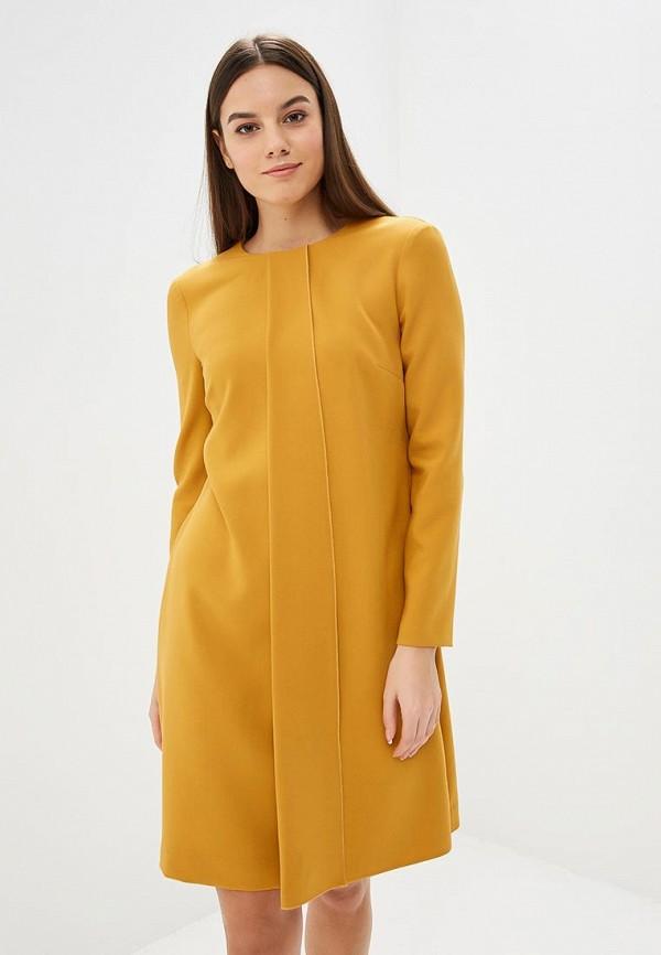 женское повседневные платье villagi, желтое