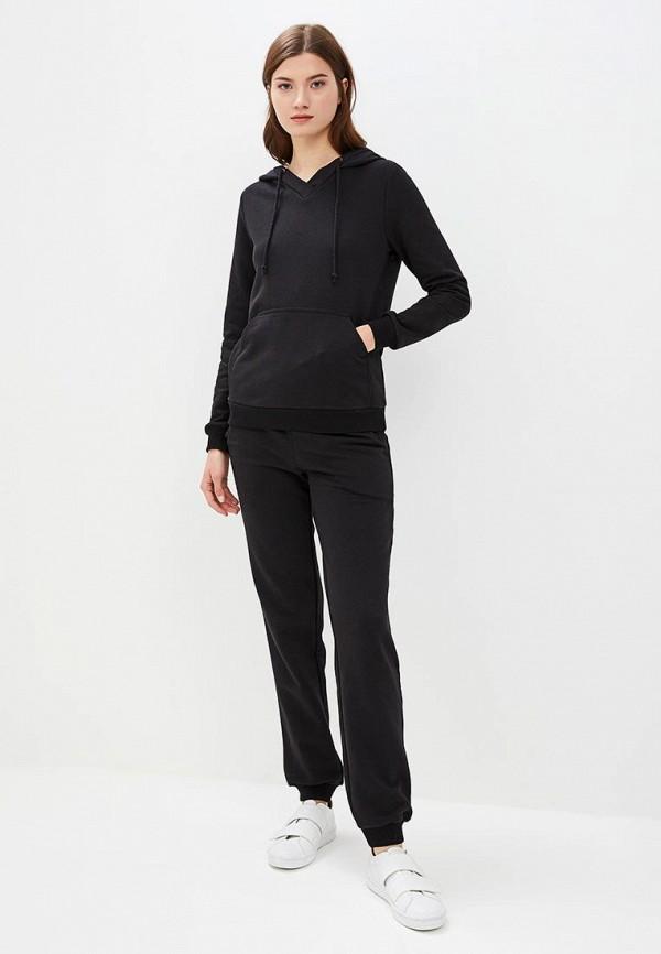 женский спортивные спортивный костюм rosso style, черный