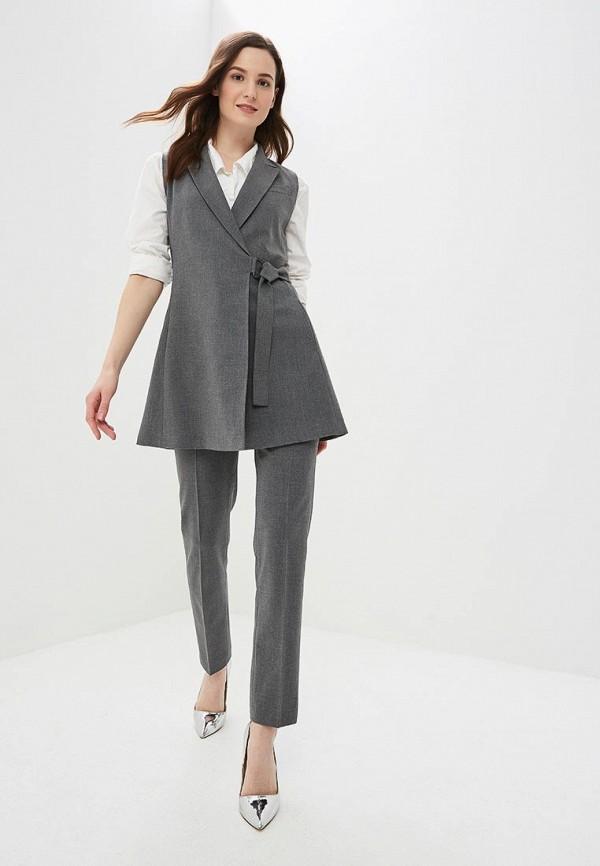 женский костюм villagi, серый