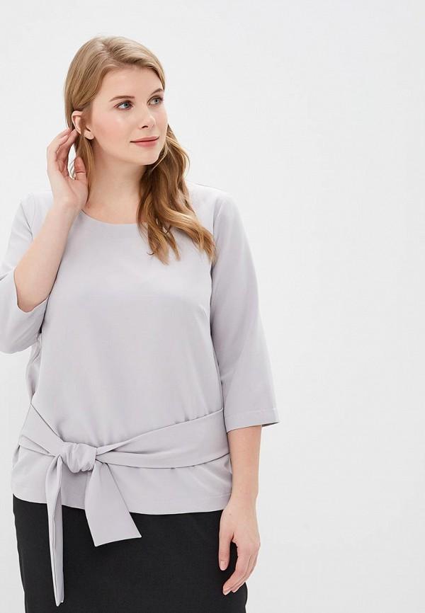 женская блузка balsako, серая