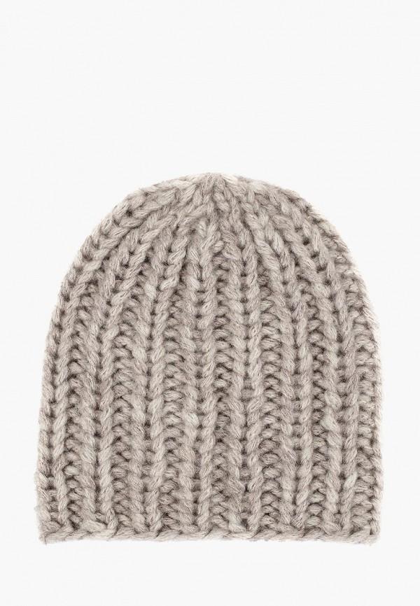женская шапка check ya head, бежевая