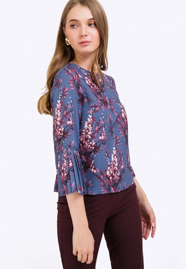 женская блузка emka, синяя
