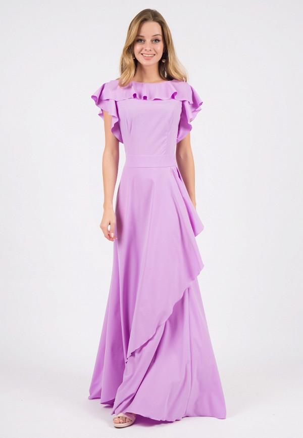 женское вечерние платье marichuell, фиолетовое