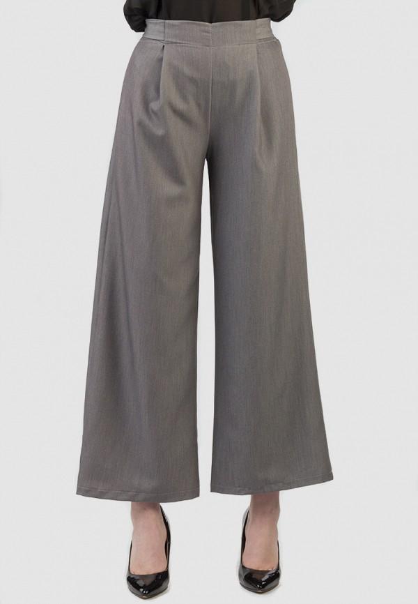 Фото - Женские брюки Intrico серого цвета