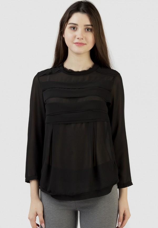 Фото - Женскую блузку Intrico черного цвета