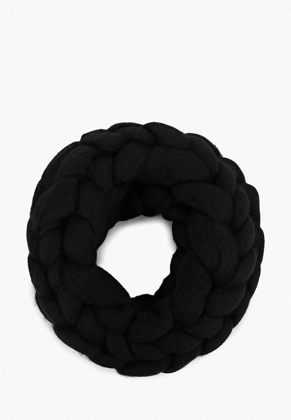 женский снуд cloudlet, черный