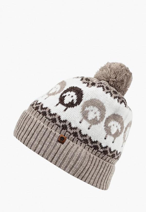 женская шапка cloudlet, бежевая