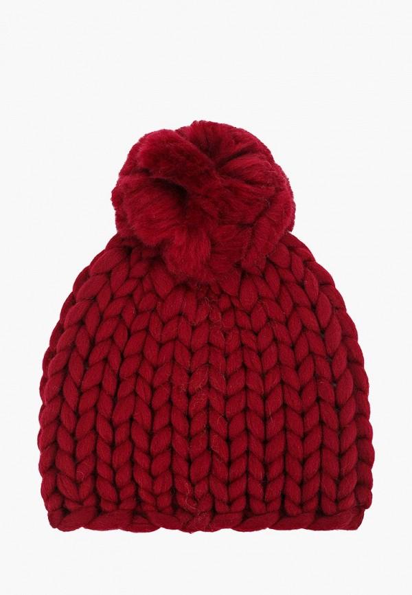 женская шапка cloudlet, бордовая
