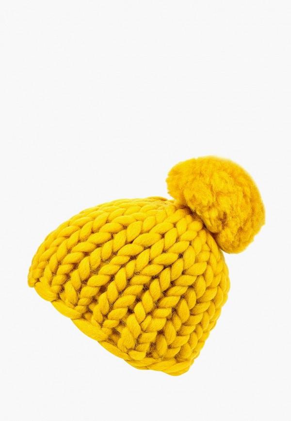 женская шапка cloudlet, желтая