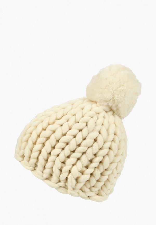 женская шапка cloudlet, белая