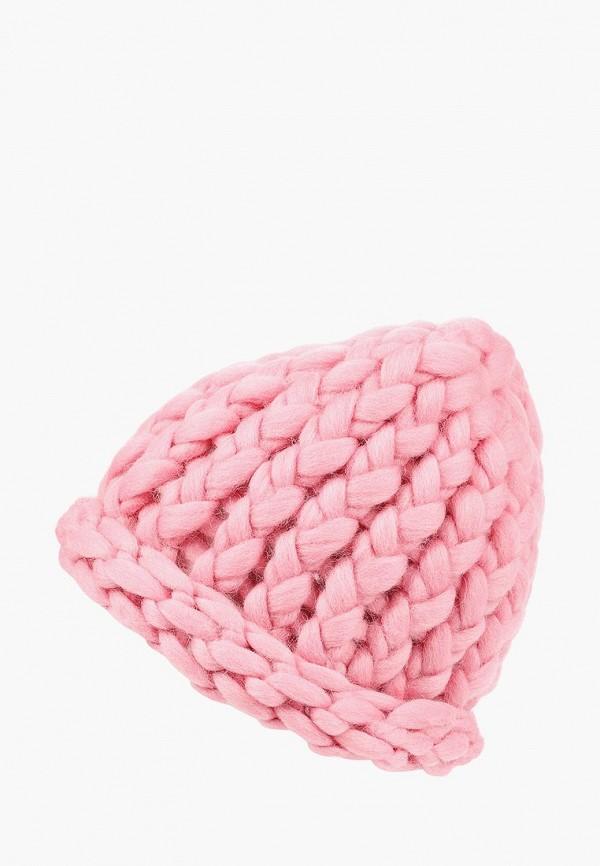 женская шапка cloudlet, розовая
