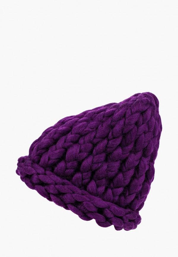 женская шапка cloudlet, фиолетовая