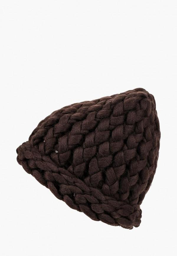 женская шапка cloudlet, коричневая