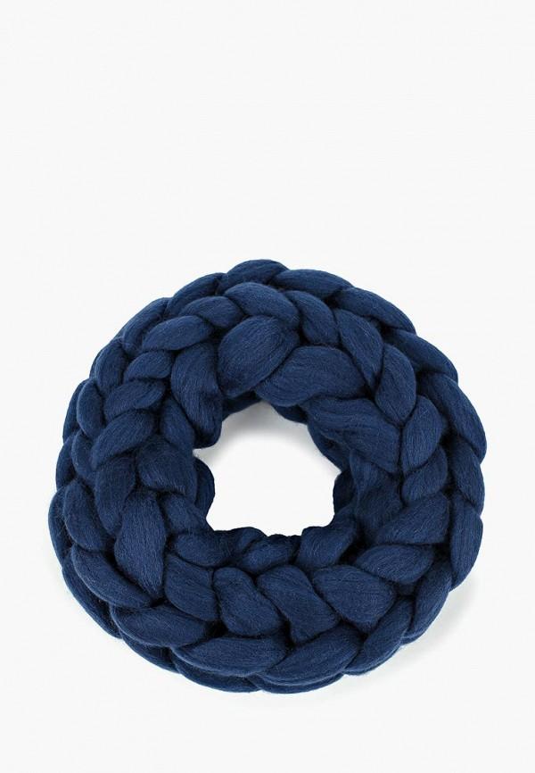 женский снуд cloudlet, синий