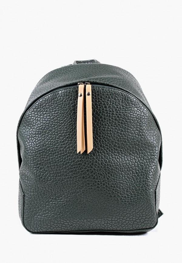 женский рюкзак медведково, зеленый