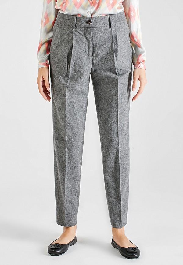 женские классические брюки sana.moda, серые