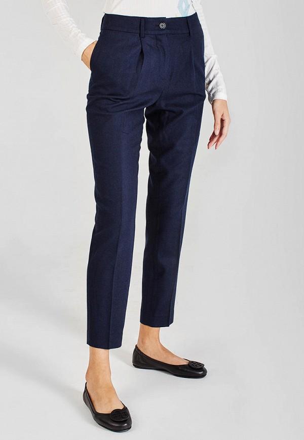женские классические брюки sana.moda, синие