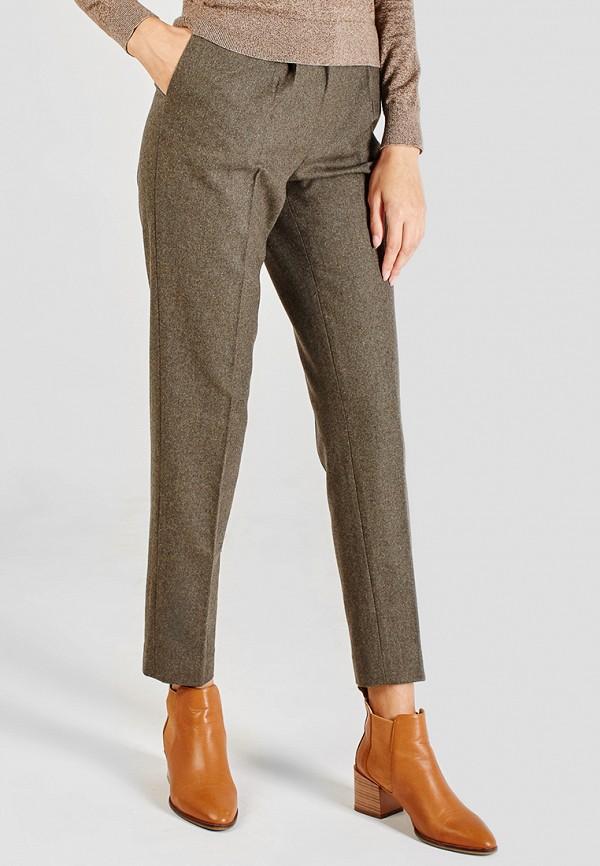 женские классические брюки sana.moda, хаки