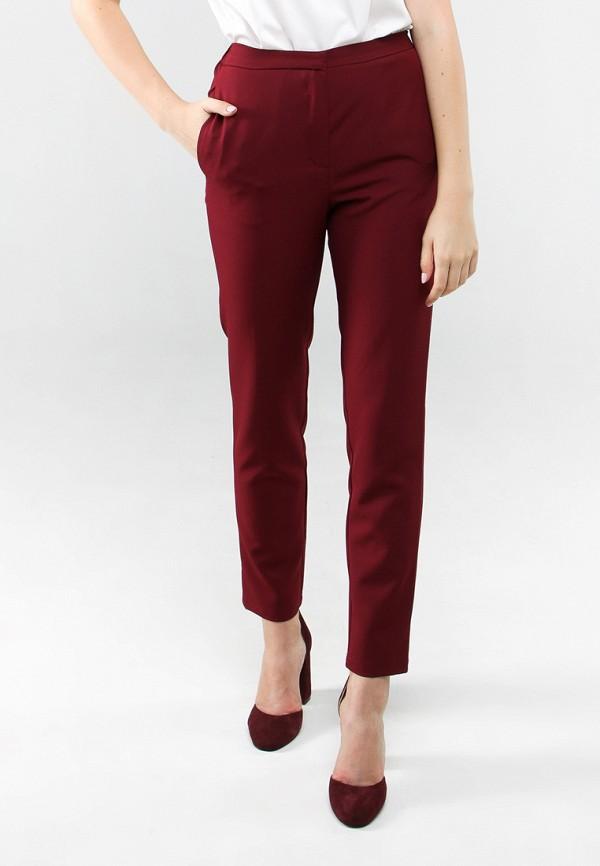 женские классические брюки 7arrows, бордовые