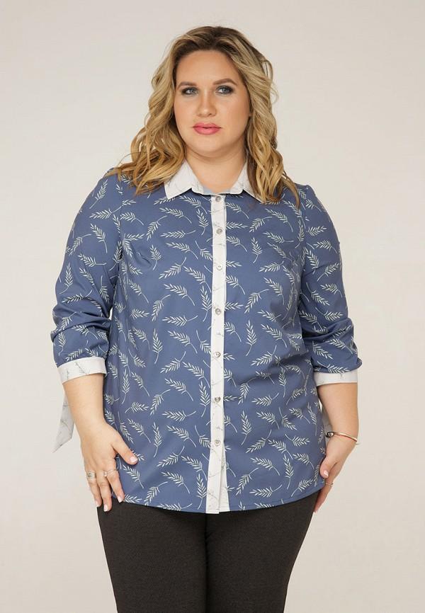 женская блузка gorda bella, синяя