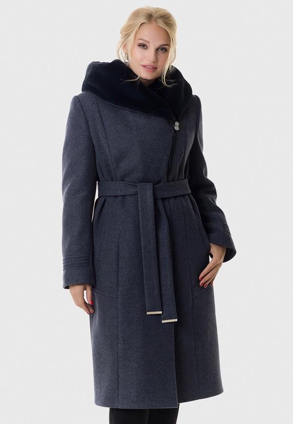 женское пальто vicco, синее