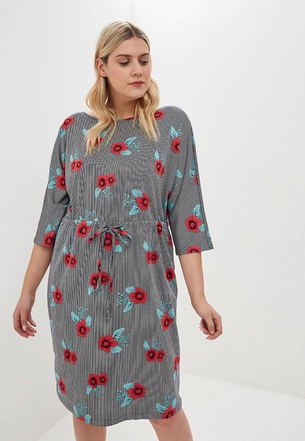 женское повседневные платье jp, серое
