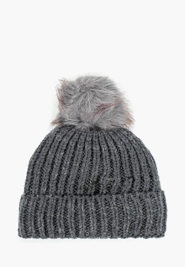 женская шапка moltini, серая