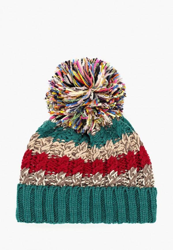 женская шапка moltini, зеленая