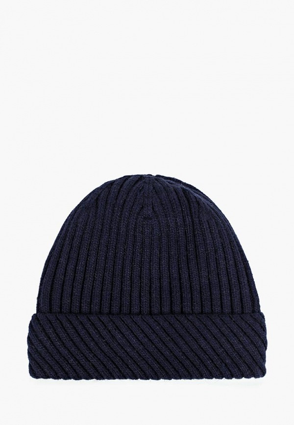женская шапка moltini, синяя