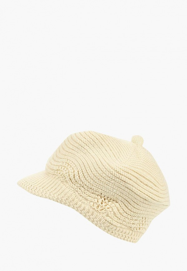 женская кепка moltini, белая