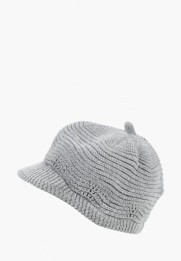 женская кепка moltini, серая