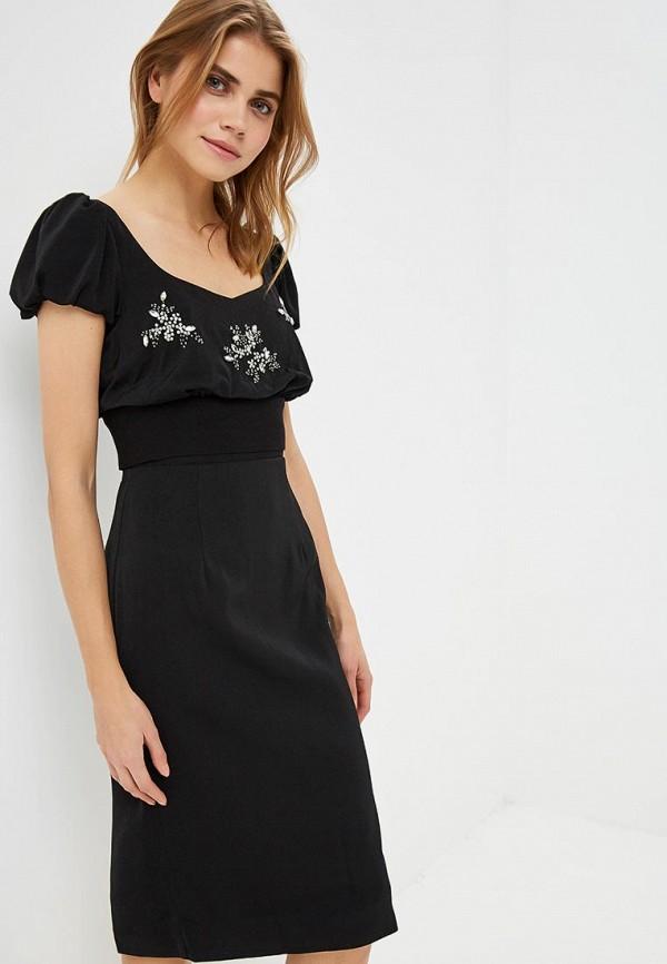 женское вечерние платье cavo, черное