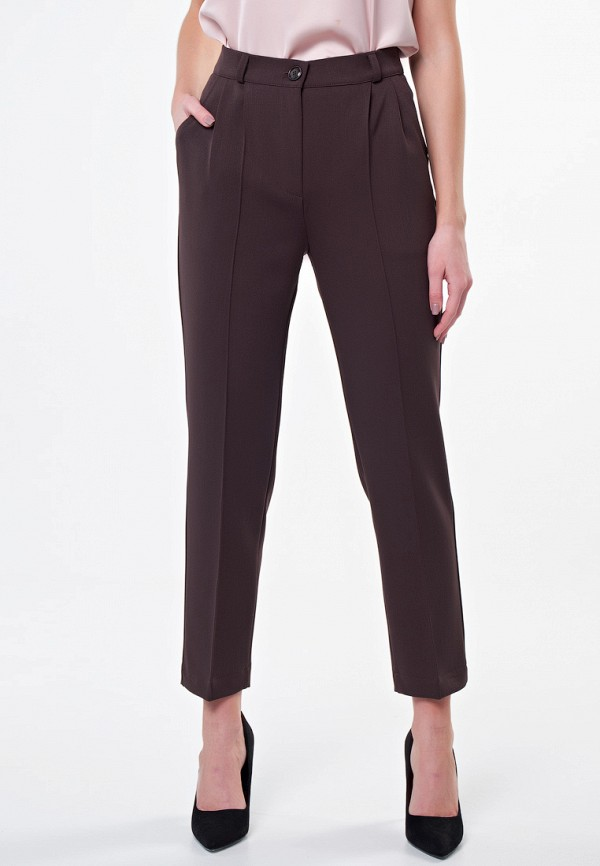 женские классические брюки irma dressy, коричневые