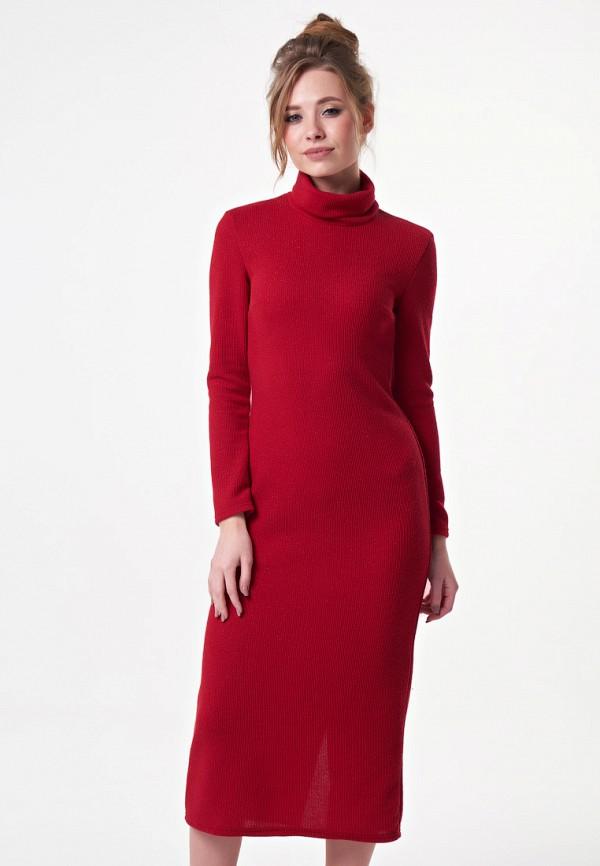 женское платье irma dressy, красное