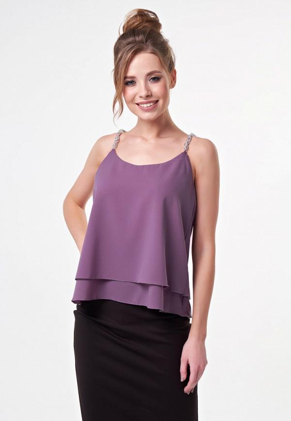 женский топ irma dressy, фиолетовый