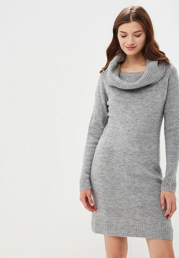 женское платье top secret, серое
