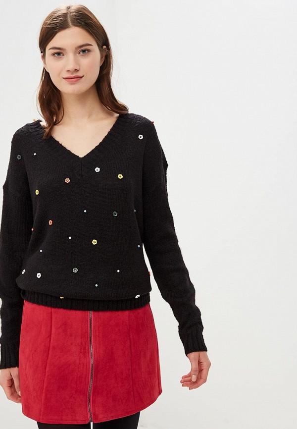 Пуловер Top Secret Top Secret MP002XW1HDI4 black choker sleeveless crop top