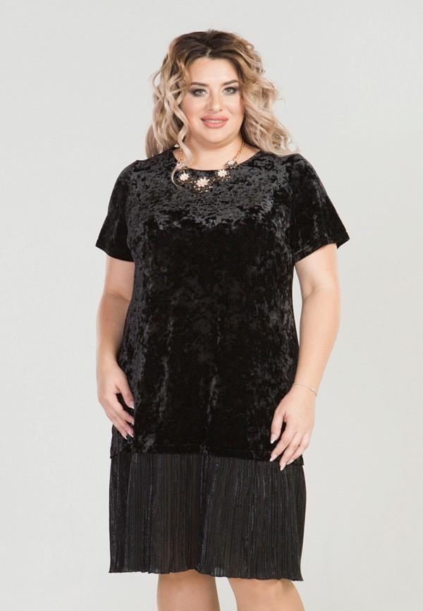 женское вечерние платье luxury plus, черное