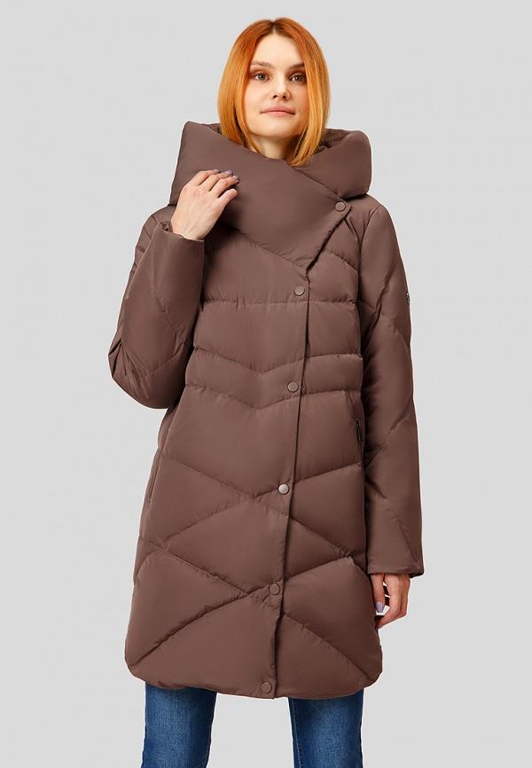 Купить Пуховик Finn Flare, mp002xw1hdl2, коричневый, Осень-зима 2018/2019