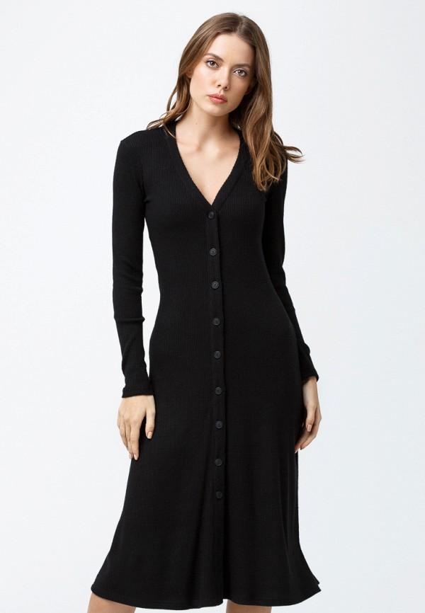 женское повседневные платье oks by oksana demchenko, черное