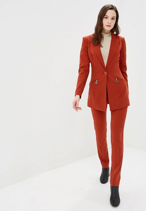 женский костюм bezko, оранжевый