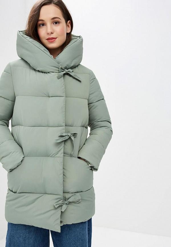 женская куртка dizzyway, зеленая