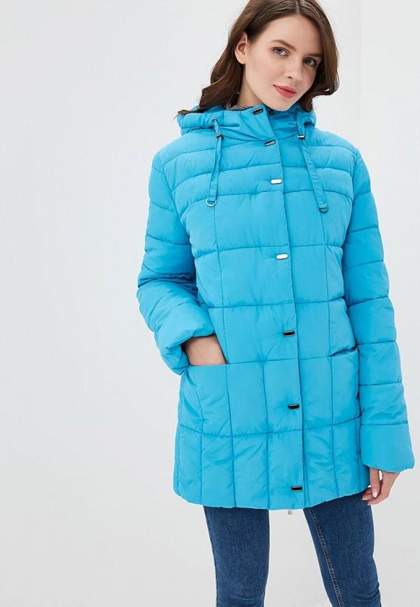 женская куртка dizzyway, голубая
