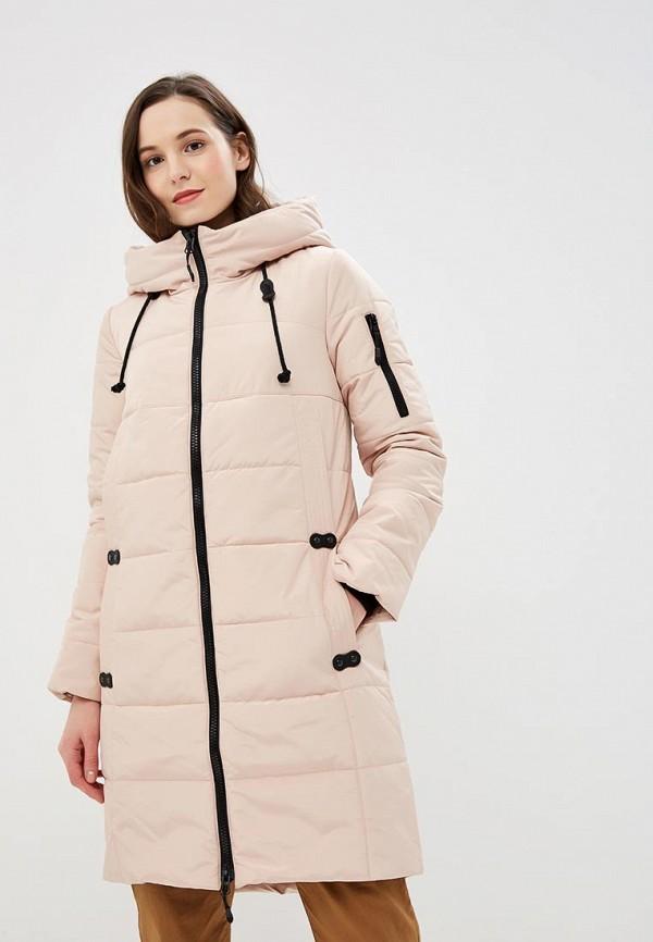 женская куртка dizzyway, розовая