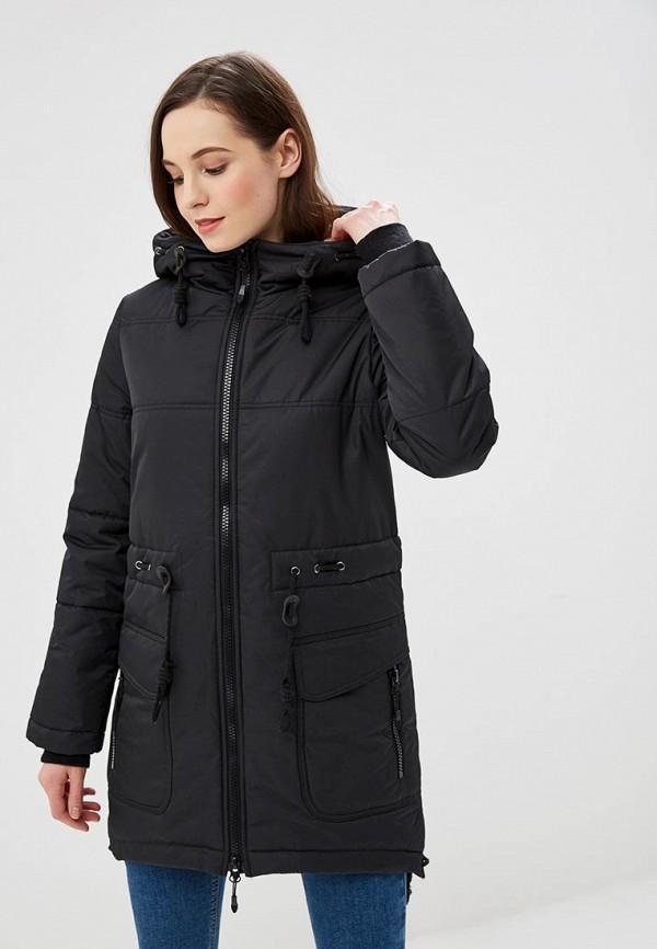 женская куртка dizzyway, черная