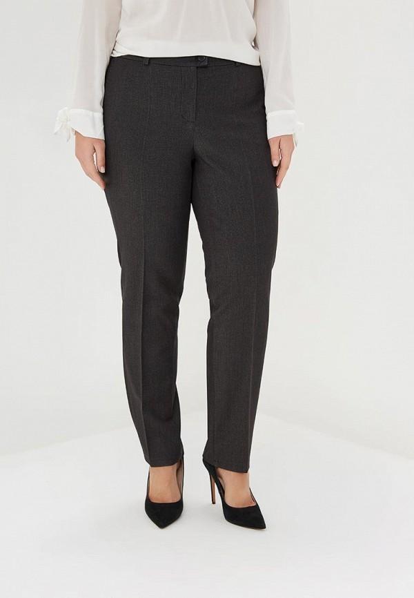 женские зауженные брюки virgi style, серые