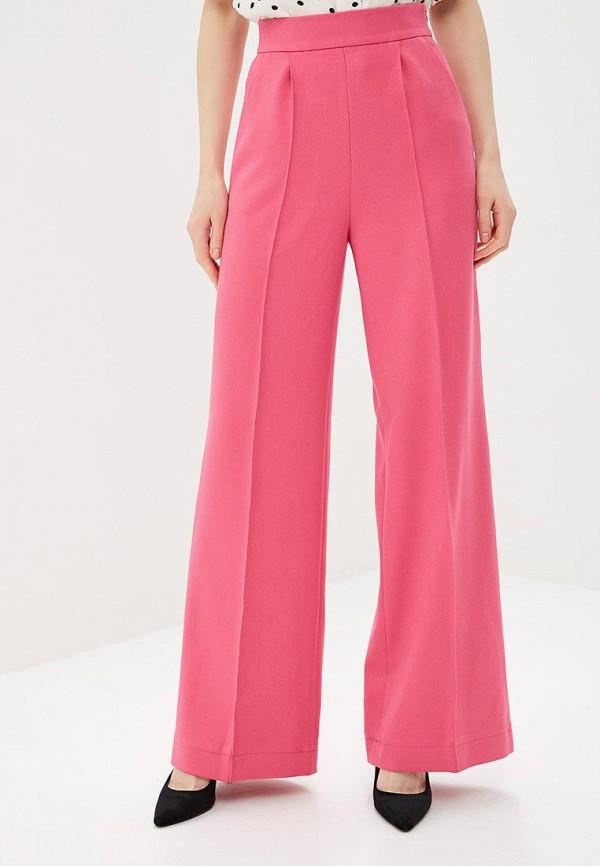 женские повседневные брюки gepur, розовые