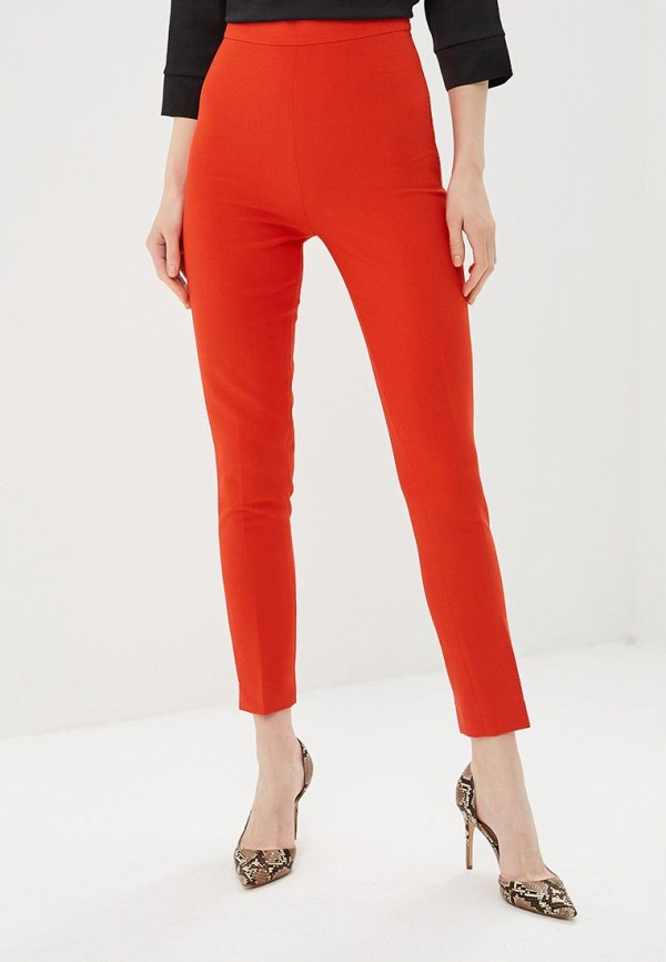 женские повседневные брюки gepur, оранжевые