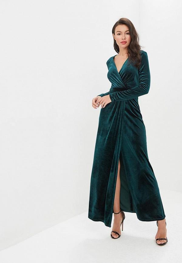женское вечерние платье zerkala, зеленое