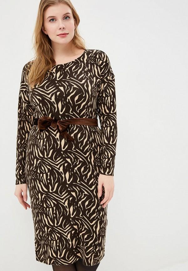 женское повседневные платье sonett, коричневое